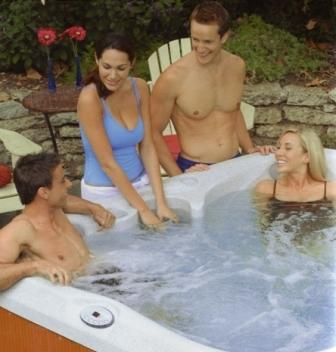 jacuzzi J230 superb party spa for all the family and friends